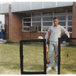 My Father Standing on the Grass